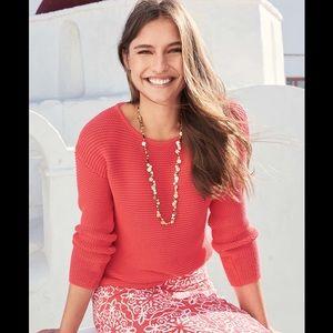 BODEN Sera Boat Neck Chunky Knit Sweater